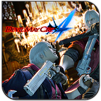 Devil may cry 4 square icon by HarryBana