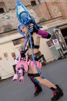 Jinx Cosplay LoL by AxelTakahashiVIII