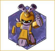 Metabee - Medabots by Fgore
