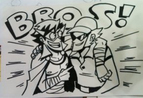 AX '11 - BROS by captainosaka