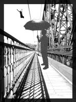 Spotted Umbrella by phlezk