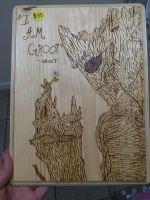 Groot woodburning by chui92