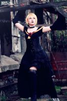 Len Kagamine Imitation Black by Stef-cosplay