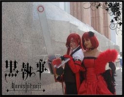 Grell and Madame Red by BleuLilo