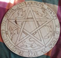 Pentacle by Smeezle