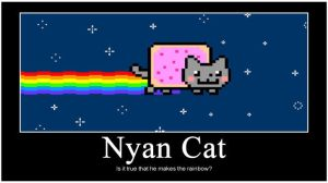 Nyan Cat by LilxCherrypop