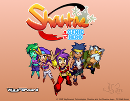 Shantae: Half-Genie Hero - Contest Entry by IngoLingo