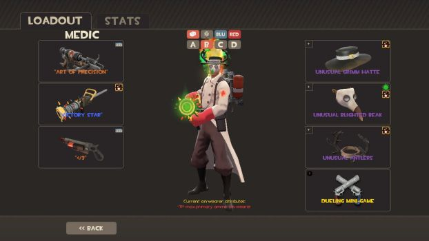 Me as a medic - TF2 by SharionDragon