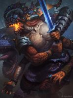 Reptile Lord Advanced by AlexKonstad
