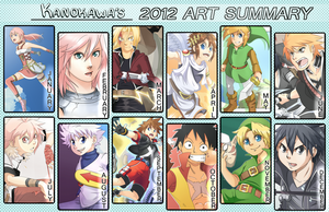 Kanokawa's 2012 Art Summary by Kanokawa