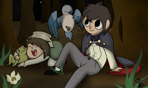 Over the Garden Wall by AllTrenchDisco