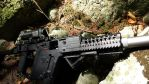 Kriss Vector Designated Marksman Rifle Close Up by Wolf999679