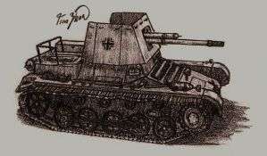Panzerjager I by TimSlorsky