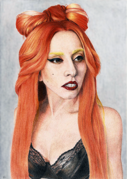 Lady Gaga by Trespie