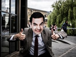 I love Mr Bean by InayatShah