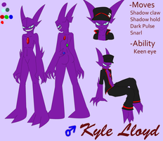 Kyle Lloyd .Ref Sheet. by Vetom