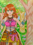 Oerba Dia Vanille:The Sunleth Waterscape by dagga19