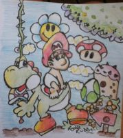 Yoshis Island FTW by LydiaRussellXP