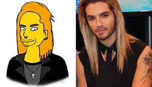 Bill Kaulitz The Simpsons Version 2013 by DysfunctionalHuman