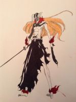 Full hollow Ichigo by droN-chan