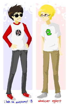 OUTFIT SWAP by delusional--fox