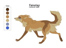 Char Sheet 25 - Fairstep by KayFedewa