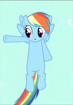 Rainbow Dash Animated GIF by Cyberjepp