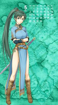 Fire Emblem Phone Background - Lyn by MonicaJohnson0647