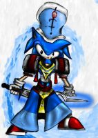 Sonic PSO colored by guru9898