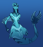 Mermaid concept by Skelletang