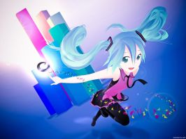 Hatsune Miku -Electric Love- by saiki2