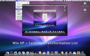 XP-Leopard transformation list by RaatsGui