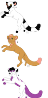 Feline Adoptables by kitkatkttyAdopts5000