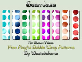 Free Wastedshame Bubble Wrap Patterns by wastedshame