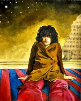 Syd Barrett dream by Marieowl
