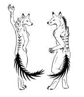 Fox Furries Tattoos by sparkycom