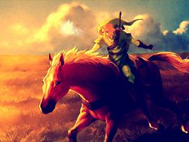 On Hyrule field by GTByron