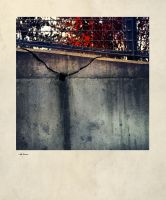 iPhoneography 10-27-14 #999 Red Grid by Gerald-Bostock