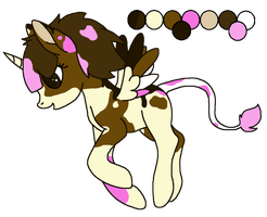 Pony Adoptable-Sold by VampyKit