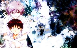 Shinji and Kaworu - Love? by xCreeps
