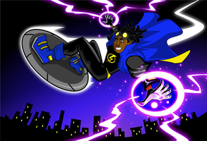 Static Shock by kudoze