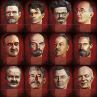Kremlin Boardgame - Middle Era Heads by anderpeich