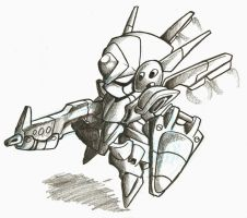 mini mecha by Tangyson