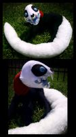 V Plushie by IceandSnow