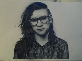 Skrillex by Ginchilla194