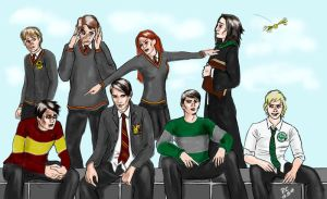 A Crowded Affair by slytherinfiend