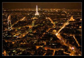 Paris by Night 2 by UrbanShots