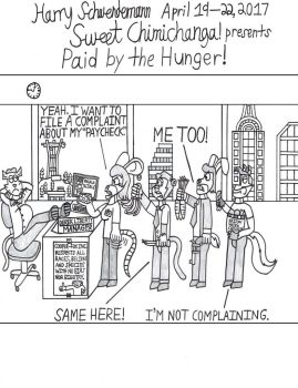 Paid by the Hunger! by WarnerRepublic