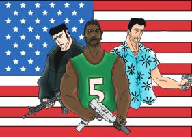 Grand Theft Auto by lone-wolf-boudin