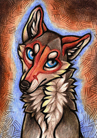 ACEO Roehawk by CanisAlbus